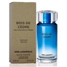 Karl Lagerfeld Bois De Cedre 靛藍雪松淡香水100ml Tester 包裝