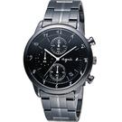 agnes b.悠緩步調 計時腕錶 BM3002J1 VD57-00A0SD 黑