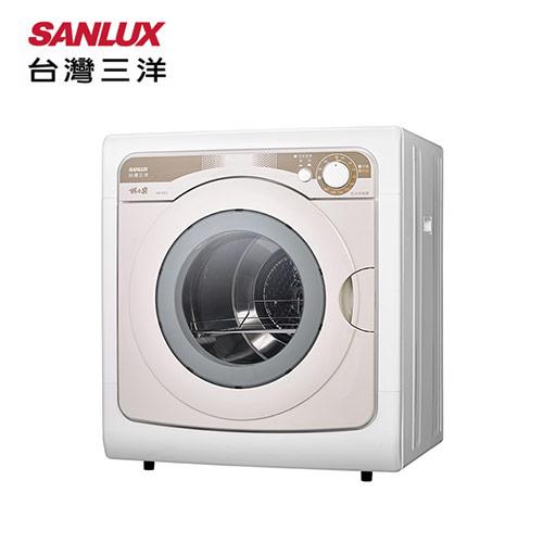 【SANLUX 台灣三洋】7.5KG乾衣機(SD-85U)含基本安裝+拆箱定位