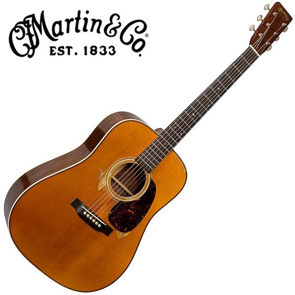 Martin D-28 Authentic 1937 Aged 嚴選具VTS的阿迪朗達克雲杉單板 馬達加斯加玫瑰木背側面板吉他