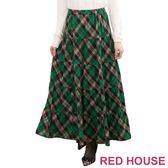 【RED HOUSE-蕾赫斯】菱格紋蛋糕長裙(共二色)