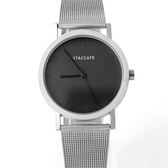 手錶 STACCATO銀色隱形數字【NEK22】正韓空運
