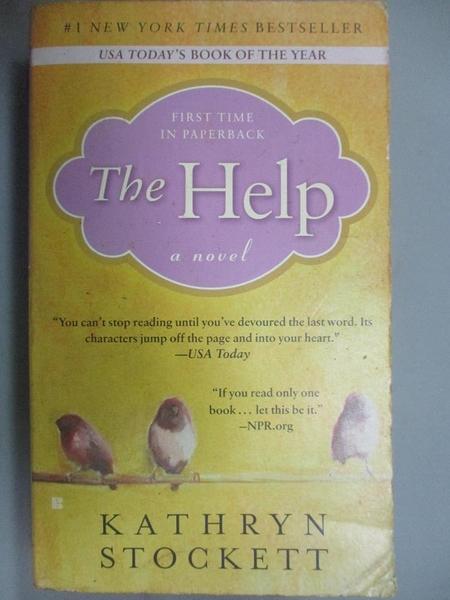 【書寶二手書T2/原文小說_GHN】The Help_Kathryn Stockett