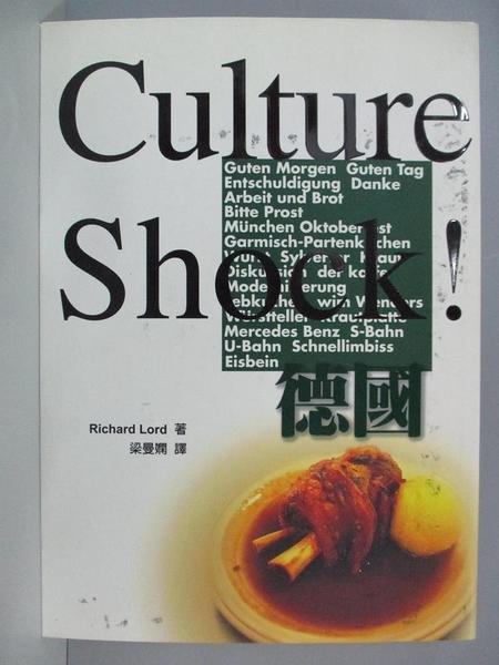 【書寶二手書T1/地理_AOS】Culture Shock!德國_Richard Lord