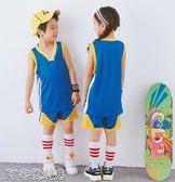 兒童籃球服小學生訓練服套裝男球衣女童幼兒園男童隊服   阿宅便利店