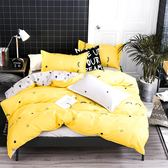Artis台灣製 - 單人床包+枕套一入【長睫毛】雪紡棉磨毛加工處理 親膚柔軟