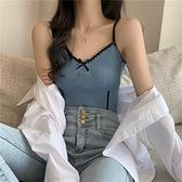 137辣妹小吊帶背心女夏網紅內搭設計感蝴蝶結外穿短款性感抹