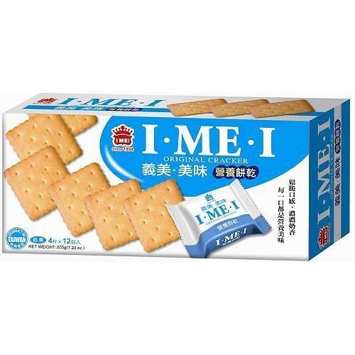 義美美味營養餅乾-原味12入/盒【愛買】