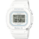 CASIO 卡西歐 Baby-G 人氣經典電子錶-白 BGD-560-7DR / BGD-560-7