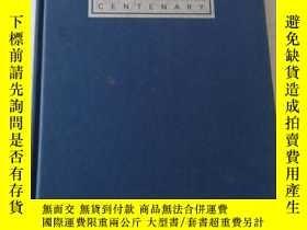 二手書博民逛書店ALLEN罕見& GLEDHILL CENTENARY【精裝版見