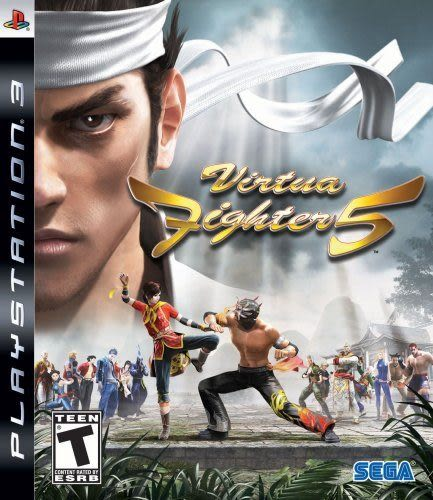 PS3 Virtua Fighter 5 VR快打5(美版代購)
