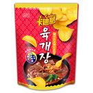 卡迪那波浪洋芋片韓式辣牛肉湯285g【愛買】
