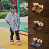 寶寶雪地靴1-3歲男兒童雪地靴全館免運季加絨刷毛嬰兒棉鞋4歲女寶寶靴子【全館85折】