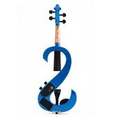 藍紅色樂器電子小提琴 公主琴電聲小提琴 熊熊物語