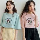 現貨-MIUSTAR SANDWICH三明治鴨膠印棉質上衣(共3色)【NJ1125】