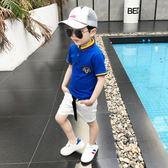 兒童短袖t恤男夏裝純棉上衣韓版童裝男童新款夏季短袖T恤薄款 芊惠衣屋