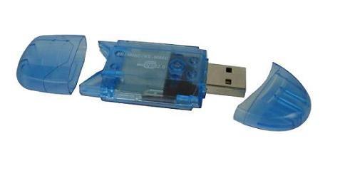 晶豪泰 - SD SDHC 讀卡機 USB2.0 高速 單槽式 現貨 (不分顏色隨機出貨)