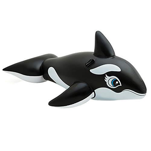 【奇買親子購物網】INTEX 大黑鯨座騎