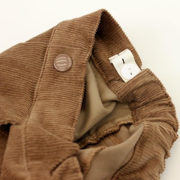 【愛的世界】半鬆緊帶保暖條絨長褲 /6歲-中國製- ★秋冬下著