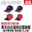 現貨 批發價台灣正品 青天白日滿地紅國旗帽 帽子棒球帽 鴨舌帽(大人版)