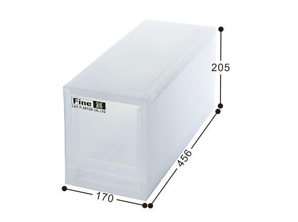 【好市吉居家生活】嚴選聯府KEYWAY~LF-1701 抽屜式整理箱 收納箱 抽屜收納