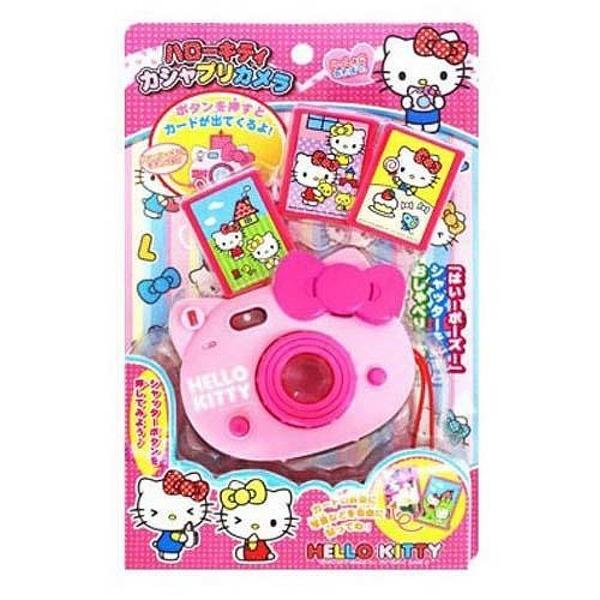 【震撼精品百貨】Hello Kitty_凱蒂貓~兒童用頭型照像機玩具-桃#01299