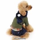 【PET PARADISE 寵物精品】JPRESS 棉質連身褲附圍巾 (DS) 寵物用品 寵物衣服《SALE》