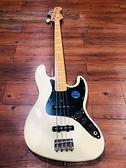 凱傑樂器 BACCHUS Bass BJB70 JAPAN 日本廠 WBD 米白色 展示品出清