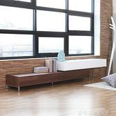 質量走起電視櫃北歐家具日式小戶型客廳伸縮電視柜簡約現代韓式創意組合電視墻柜igo