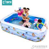 兒童游泳池充氣家庭嬰兒成人家用海洋球池加厚超大號戲水池 igo時尚芭莎鞋櫃 igo 時尚芭莎鞋櫃