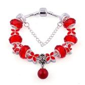 串珠手鍊-水晶飾品未來飛舞生日母親節禮物女配件3色73bg18【時尚巴黎】