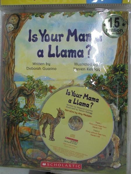 【書寶二手書T2/原文小說_DUK】Is Your Mama a Llama Read Along Trade_Guarino, Deborah/ Kellogg, Steven (ILT)