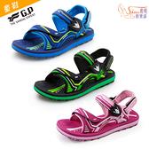 童鞋.G.P 兒童簡約休閒兩用涼拖鞋.綠/藍/粉【鞋鞋俱樂部】【255-G0711B】