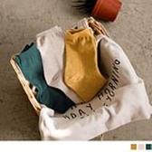 《ZB0727》韓國製.純色中筒襪 OrangeBear
