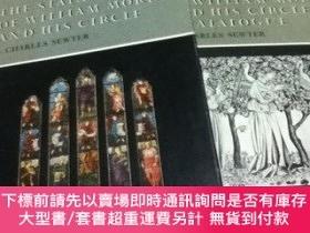 二手書博民逛書店英文)ウィリアム·モリスとその仲間によるステンドグラス罕見全2冊 Stained G
