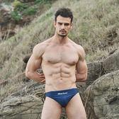 ≡MARIUM≡  大男競賽型泳褲/小月型印花─深藍  MAR-8102