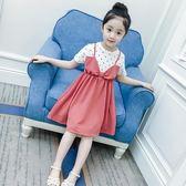 女童夏裝兒童5歲純棉洋裝韓版中大童公主裙夏季裙子6歲 韓語空間