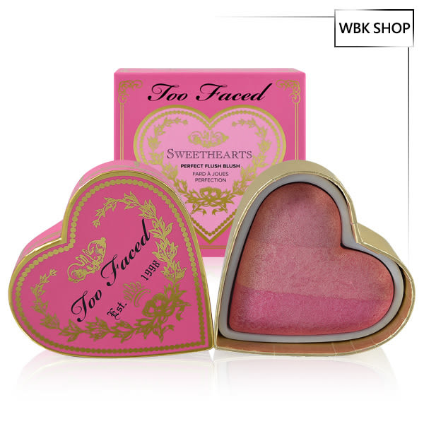 Too Faced 3色腮紅 5.5g #Something About Berry Sweethearts Perfect Flush Blush - WBK SHOP