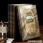 歐式筆記本子文藝精致簡約復古古風日記本a5個性創意網紅大學生