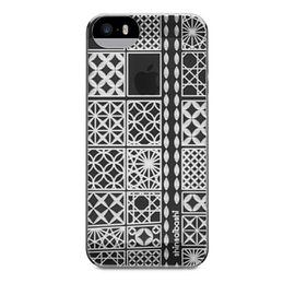 【唐吉商城】POWER SUPPORT iPhone 5/5S 專用 Air Jacket Kiriko 江戶切子保護殼 - 大阪灰(PSCO)