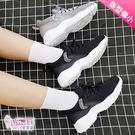 休閒鞋.透氣柔軟運動休閒鞋.黑/灰【鞋鞋...