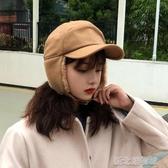 帽子女秋冬季韓版百搭保暖毛絨雷鋒帽滑雪飛行帽護耳棒球帽男帽潮 新北購物城
