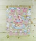 【震撼精品百貨】Hello Kitty 凱蒂貓~三麗鷗~Sanrio人物聖誕大貼紙*04560
