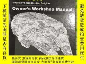 二手書博民逛書店The罕見Millennium Falcon Owner s Workshop Manual: Star Wars
