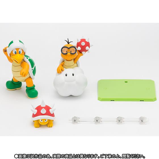 Poco+玩具部 全新 SHF SUPER MARIO 超級瑪利歐 Diorama Play Set 敵人 E