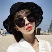 韓版全金屬貓眼太陽鏡款時尚個性圓形情侶蛤蟆鏡潮流男女墨鏡 樂芙美鞋