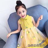 女童夏裝洋氣小女孩公主裙