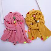1-10歲兒童圍巾冬天加厚保暖男童女童圍脖【奈良優品】