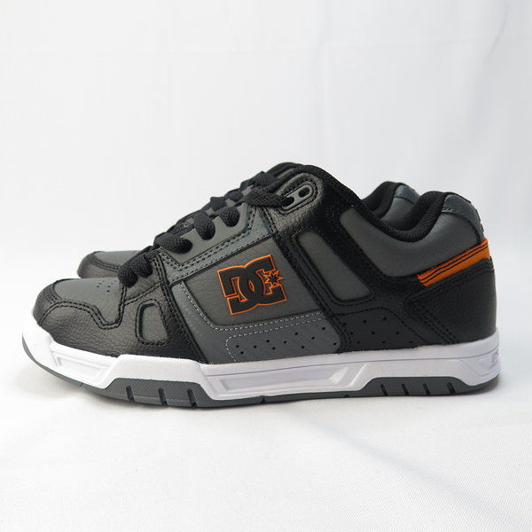DC STAG 滑板鞋 男款 黑橘 320188XSKW【iSport愛運動】