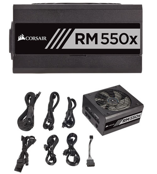 Corsair 海盜船 RM550X 80Plus金牌 電源供應器